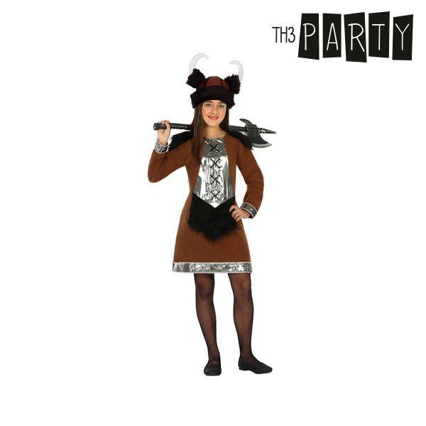 Kostým pro děti Th3 Party Žena viking - 10–12 roků