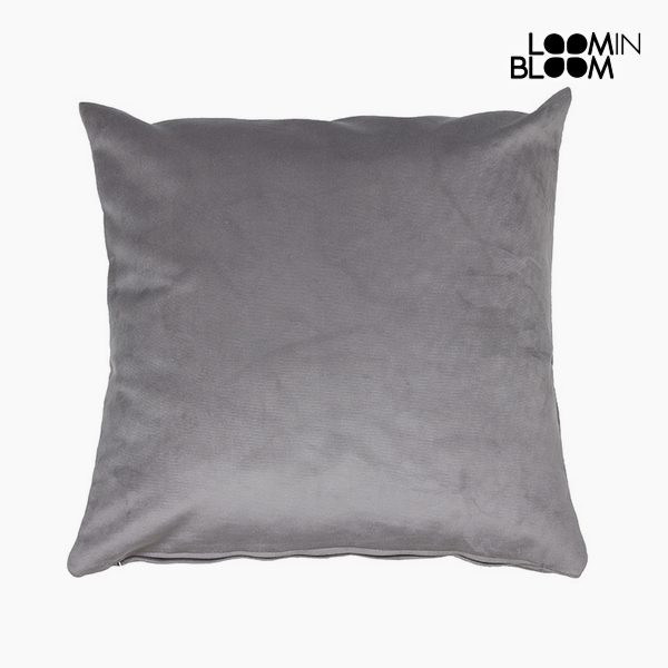 Polštářek Polyester Šedý (45 x 45 x 10 cm) by Loom In Bloom