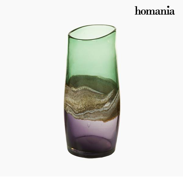 Wazon Szkło (13 x 15 x 30 cm) - Pure Crystal Deco Kolekcja by Homania