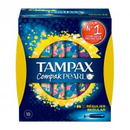 normální tampóny Pearl Compak Tampax (18 uds)