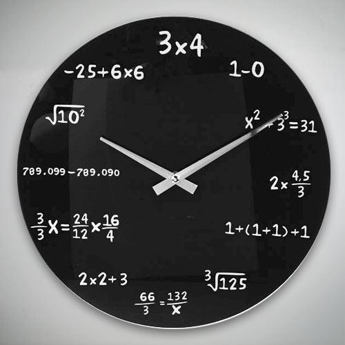 Zegar Ścienny Matematyka