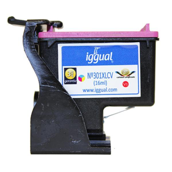 Recyklovaná Inkoustová Kazeta iggual HP PSICH564EV Barva
