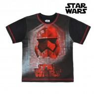 Koszulka z krótkim rękawem dla dzieci Star Wars 1286 Czarny (rozmiar 8 lat)