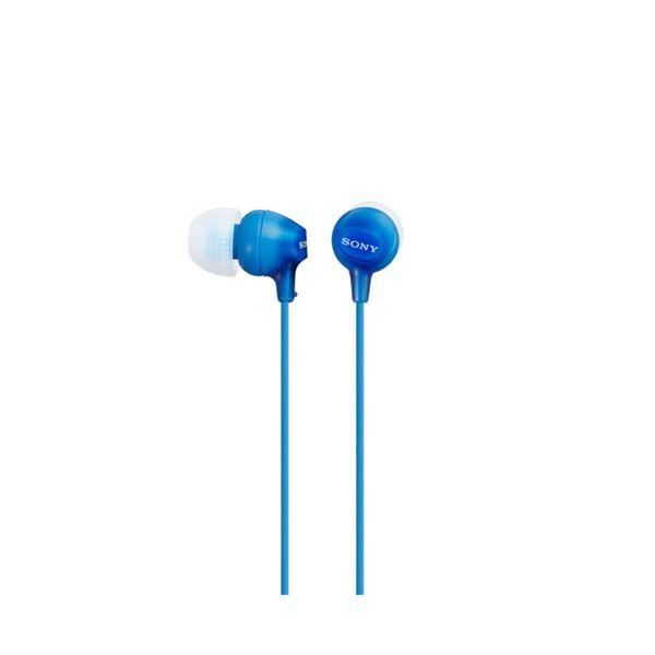 Słuchawki Sony MDR EX15LP in-ear Niebieski
