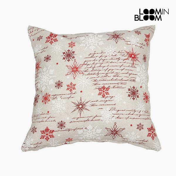 Polštářek Bavlna a polyester Červený (45 x 45 x 10 cm) by Loom In Bloom
