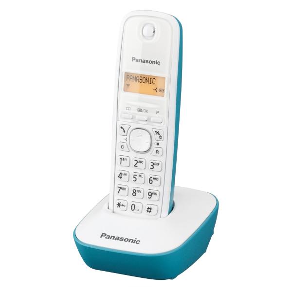 Telefon Bezprzewodowy Panasonic KX-TG1611SPC DECT Biały