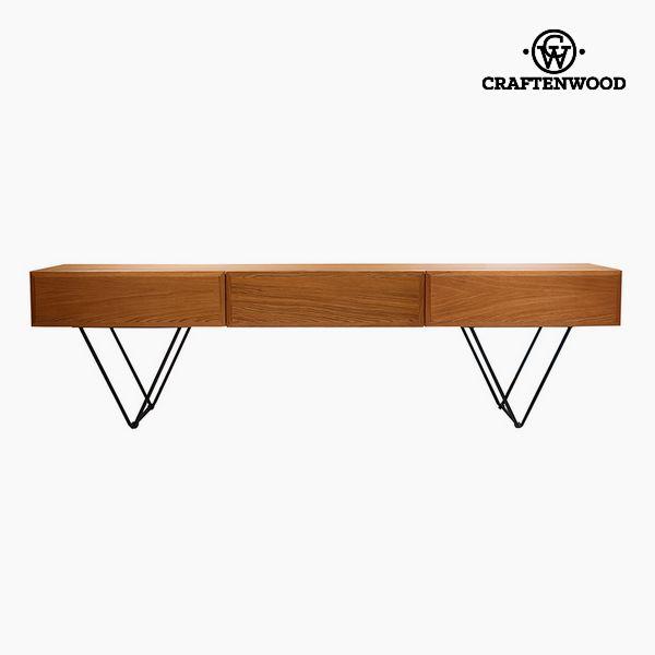 TV stolek Vlašský ořech Mdf (200 x 40 x 55 cm) by Craftenwood