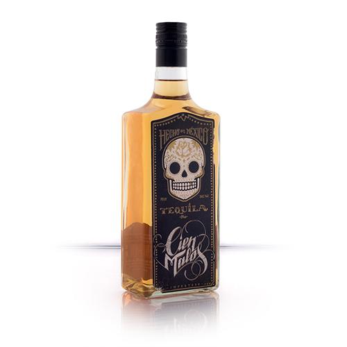 Zlatá Tequila Cien Malos