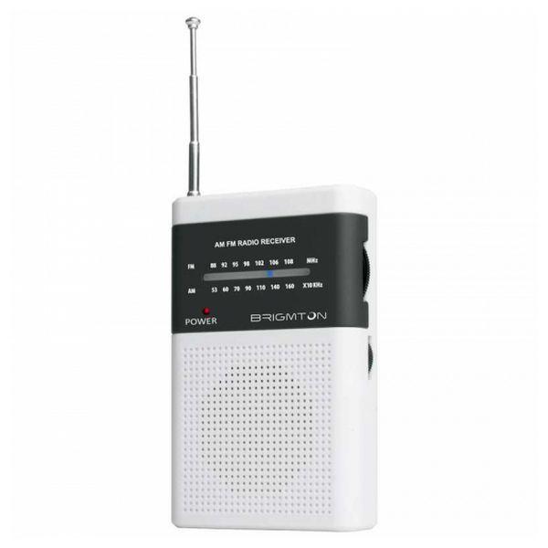 Přenosné rádio BRIGMTON BT-350 Bílý
