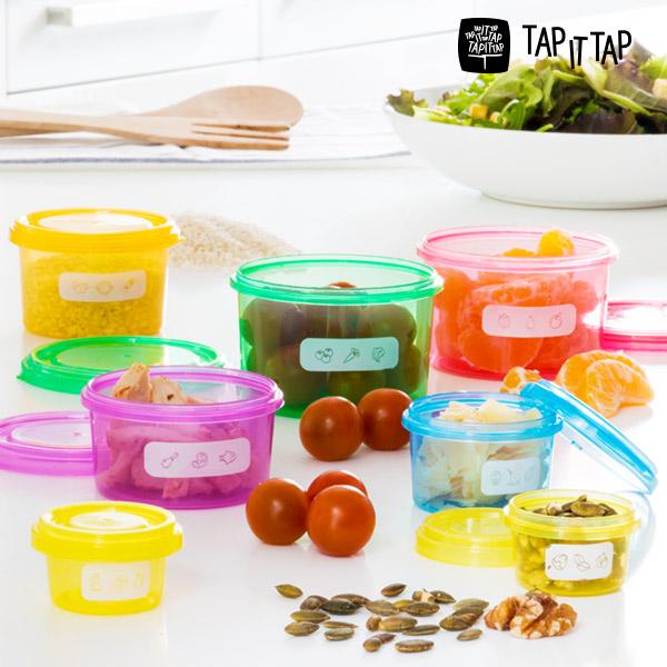 Krabičky na Vyváženou Stravu Tap It Tap (7 částí)