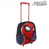 Plecak szkolny 3D z kółkami Spiderman 937