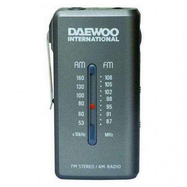 Tranzistorové rádio Daewoo DRP-9 AM FM Šedý