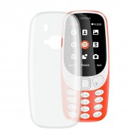 Puzdro na mobil Nokia 3310 2017 Flex Transparentná