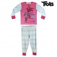 Piżama Dziecięcy Trolls 4717 (rozmiar 7 lat)