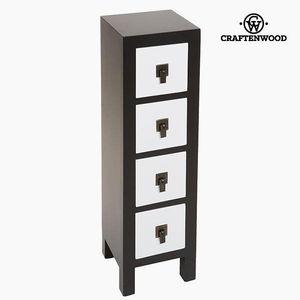 Prádelník Mdf (25 x 24 x 85 cm) - Modern Kolekce by Craftenwood