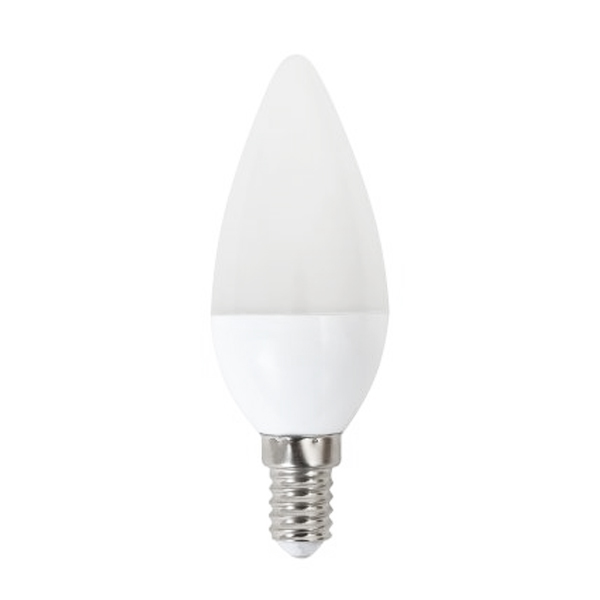 LED Žárovka Svíčka Omega E14 4W 320 lm 6000 K Bílé světlo