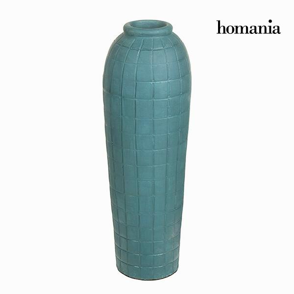 Wazon Niebieski - Ellegance Kolekcja by Homania