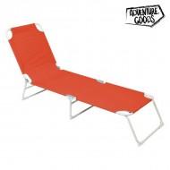Ležaljka Adventure Goods 33661 (187 x 55 x 27 cm) Oranžový