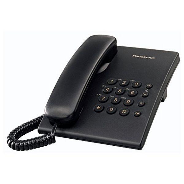 Telefon Stacjonarny Panasonic KX-TS500EXB Czarny