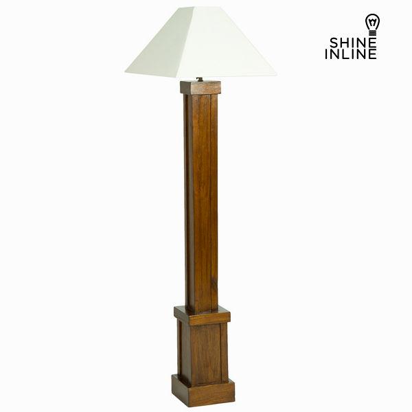 Stojací lampa Dřevo mindi (173 x 40 x 40 cm) by Shine Inline