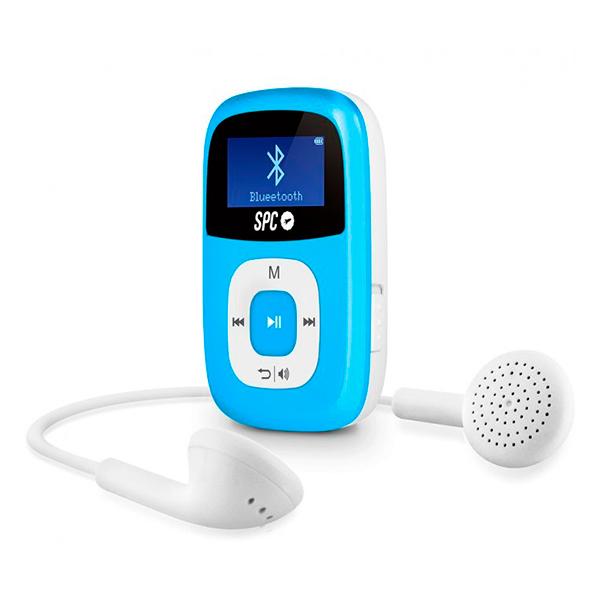 Odtwarzacz MP3 SPC 8668A 8 GB BLUETOOTH RADIO FM Niebieski