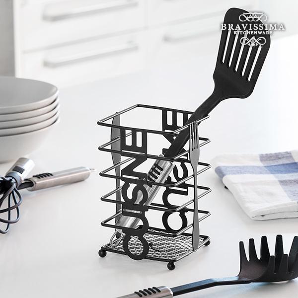 Metalowy Stojak na Sztućce Cuisine Bravissima Kitchen