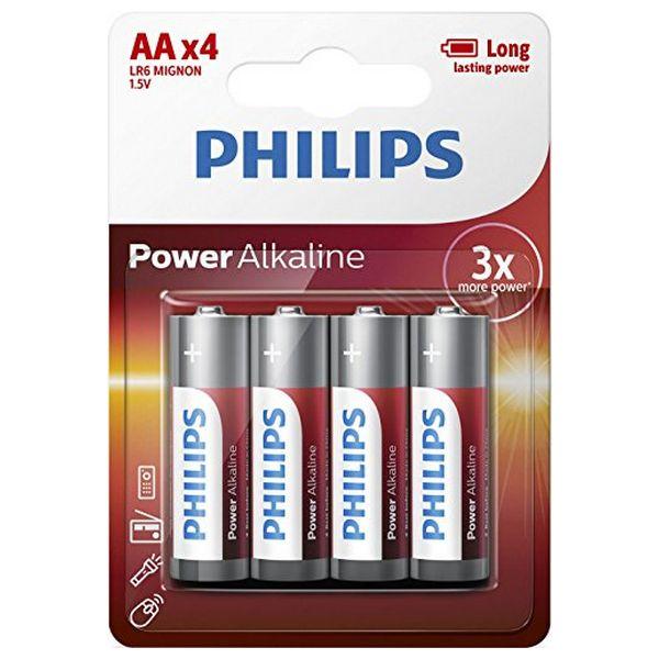Philips alkalická baterie LR6 AA balíček-4