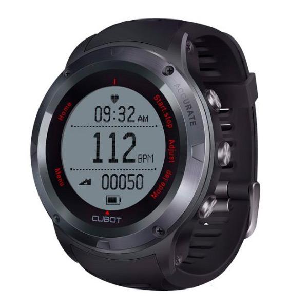 Chytré hodinky Cubot F1 HR Černý