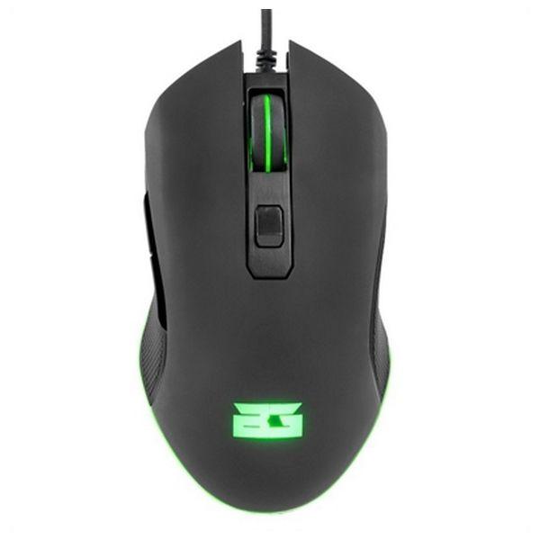Myszka Gaming z LED BG BGAPACHE 3200 dpi Czarny
