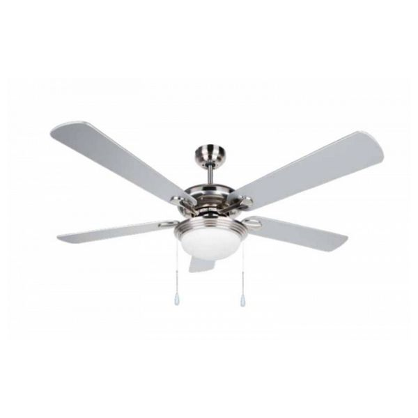 Stropní ventilátor se světlem Obergozo CP 83132 60W Šedý