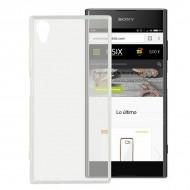 Puzdro na mobil Sony Xperia Xa1 Plus Flex TPU Transparentná