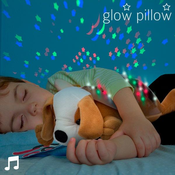 LED Projektor se Zvukem Štěňátko Glow Pillow