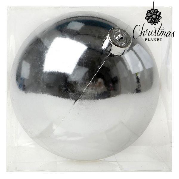 Vánoční koule Christmas Planet 7681 15 cm Stříbřitý