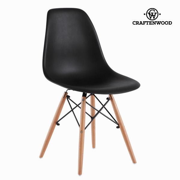 Krzesło abs kolor czarny z buku by Craftenwood