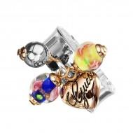Dámský prsten Guess UBR11110-S (15 mm)