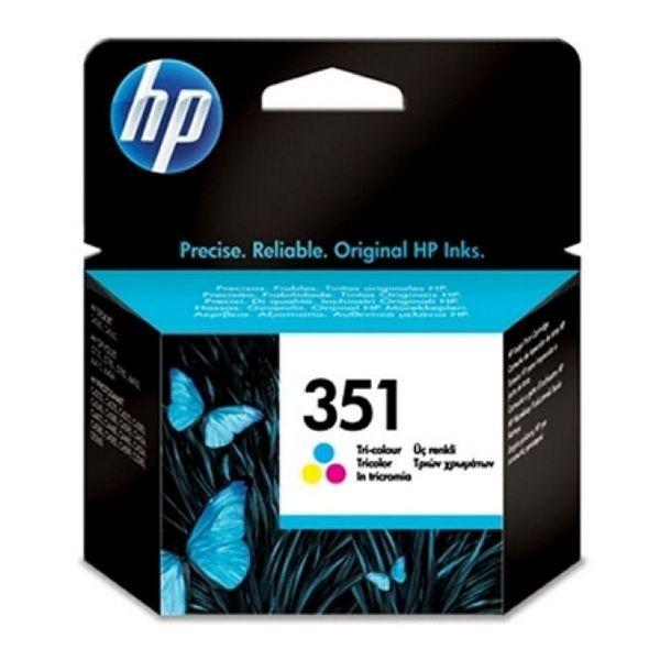 Originální inkoustové náplně Hewlett Packard CB337EE Tříbarevná