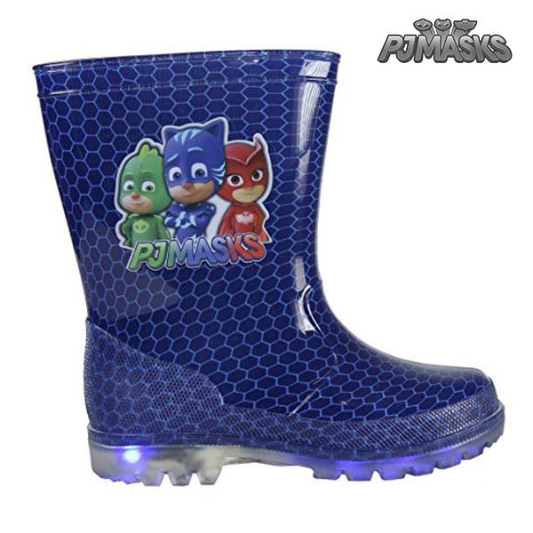 Dětské boty do vody s LED  světly PJ Masks 0356 (velikost 24)