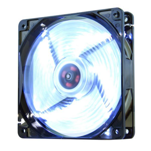 Wentylator do Obudowy NOX NXCFAN120LW Cool Fan 12 cm LED Biały