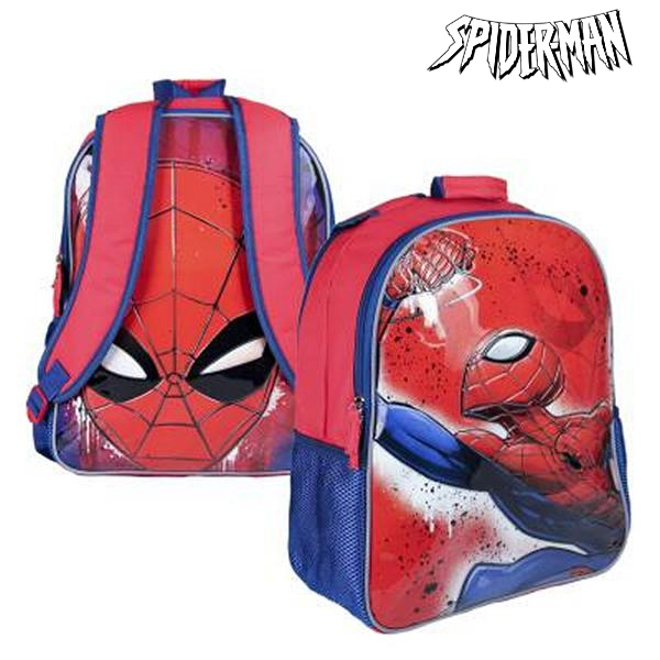 Oboustranný školní batoh Spiderman 019