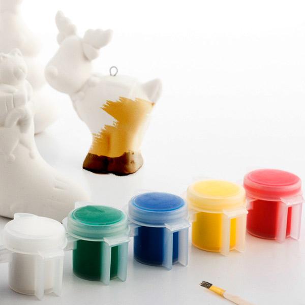 Vánoční Figurky k Omalování (6 kusů)