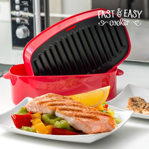 Grilovací Vložka do Mikrovlnné Trouby Fast & Easy Cooker