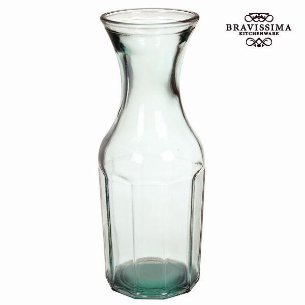 Láhev z recyklovaného skla Transparentní - Pure Crystal Kitchen Kolekce by Bravissima Kitchen