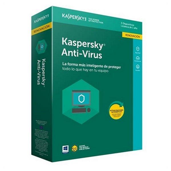 Program Antywirusowy dla Domu Kaspersky 54035 3L/1A RN
