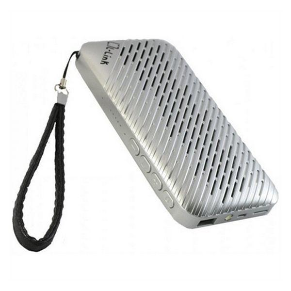 Reproduktor s Bluetooth + powerbanka + rádio + MP3 přehrávač + LED svítilna L-Link LL-AM-122 USB