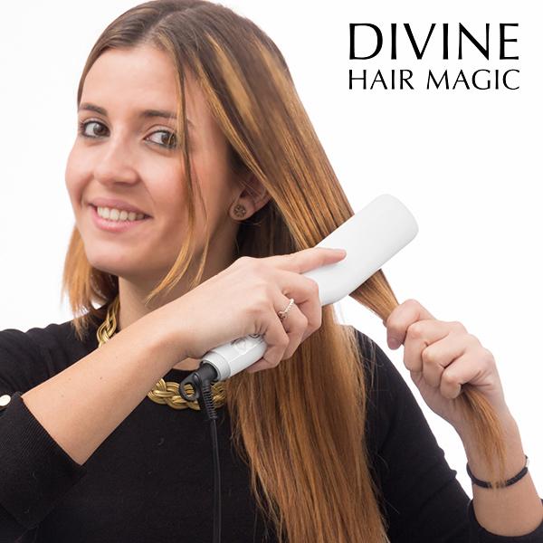 Elektrický Kartáč na Žehlení Vlasů Divine Hair Magic