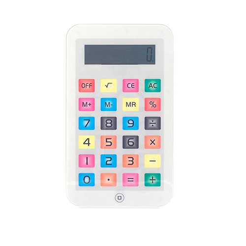 Mały Kalkulator iTablet - Biały