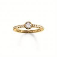 Dámsky prsteň Thomas Sabo TR1984-414-14-52 (16,5 mm)