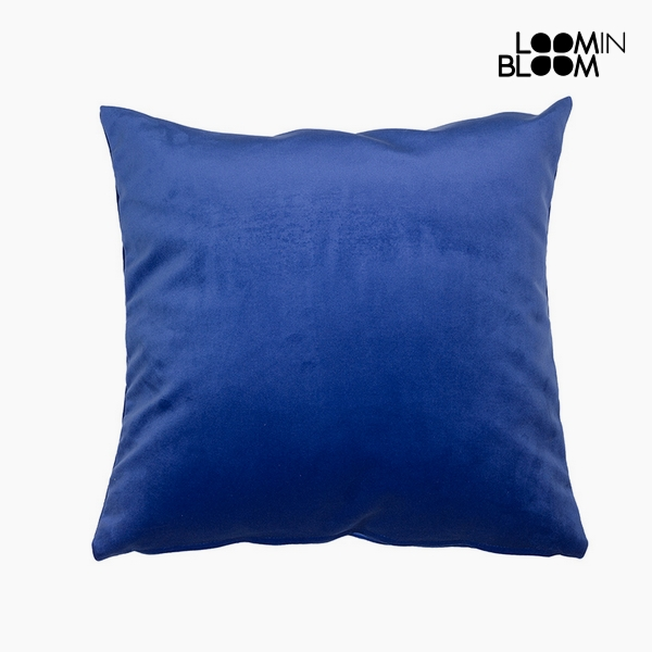 Polštářek Polyester Modrý (45 x 45 x 10 cm) by Loom In Bloom