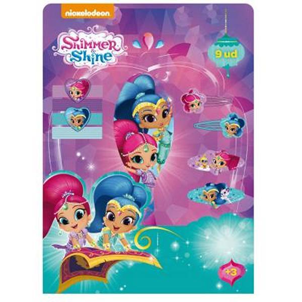 Vlasové doplňky Shimmer and Shine (9 pcs)