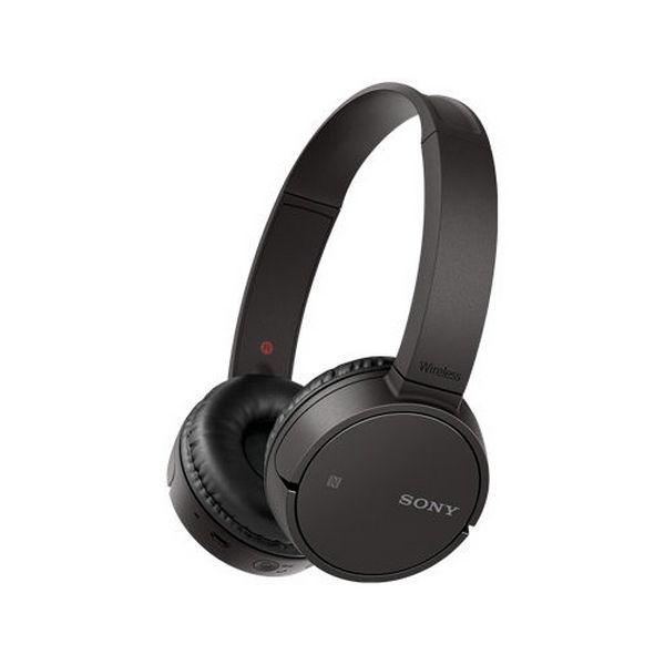 Sluchátka s Bluetooth Sony WHCH500B NFC Černý